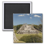 Altun Ha is a Mayan site that dates back to 200 Square Magnet