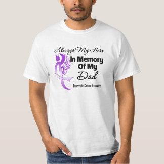 Always My Hero In Memory Dad - Pancreatic Cancer Tee Shirts