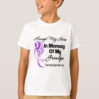 Always My Hero In Memory Grandpa - Pancreatic Canc Tshirt