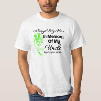Always My Hero In Memory Uncle - Lymphoma Tshirts