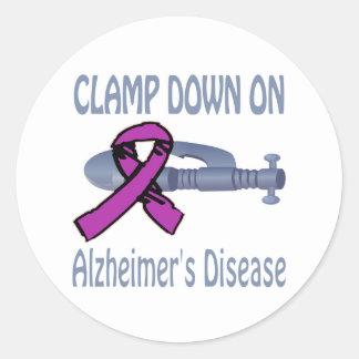 Alzheimer&Apos;S Disease Round Sticker