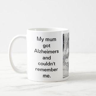 Alzheimer Mug Printed Message