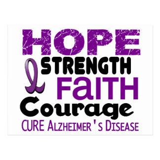 Alzheimer's Disease HOPE 3 Postcard