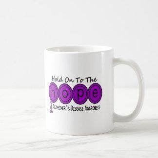 Alzheimer's Disease HOPE 6 Basic White Mug