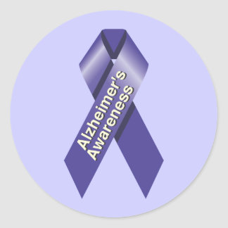 Alzheimer's Awareness Sticker