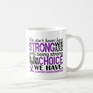 Alzheimer's Disease How Strong We Are Basic White Mug