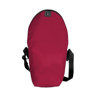 AMARANTH RED (solid color) ~ Courier Bags