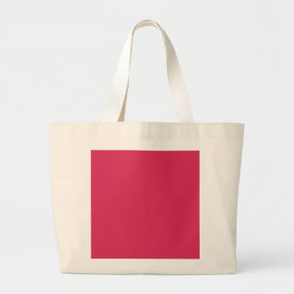 AMARANTH RED (solid color) ~ Jumbo Tote Bag