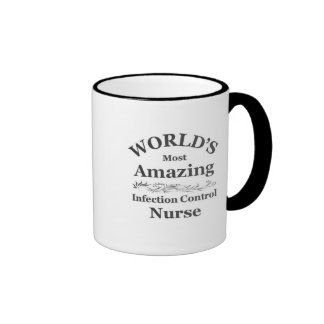 Amazing Infection Control Nurse Ringer Mug