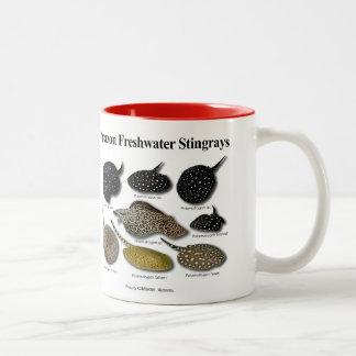 Amazon Freshwater Stingrays Two-Tone Mug