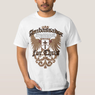 Ambassador For Christ, Corinthians Bible Verse T-shirt