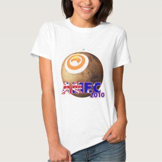 AMEC2010 White Womens' Baby Doll T-shirt