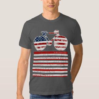 AMERICA cyclists stylish look Tee Shirts
