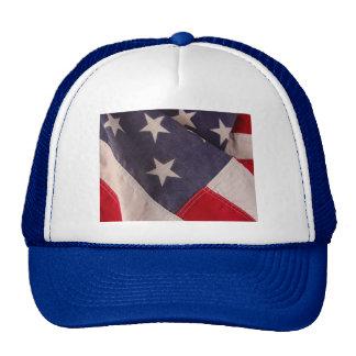 America flag blue hat