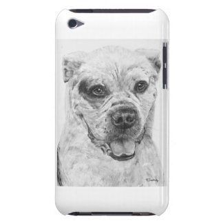 American Bulldog Smiling Barely There iPod Cases