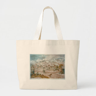 American Civil War Battle of Allatoona Pass Jumbo Tote Bag