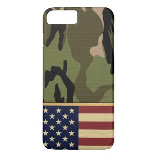 American Flag Camo iPhone 7 Plus Case
