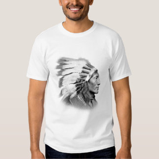 American Indian Chief Tees