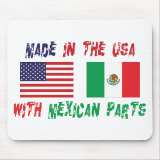 American Mexican American Mouse Pad