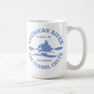 American River (kayak) Basic White Mug