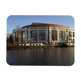 Amsterdam Music Hall Rectangular Photo Magnet