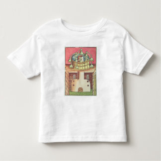 An alchemist's water-bath or bain-marie tee shirt