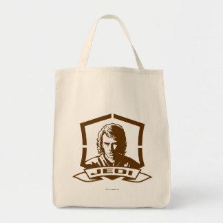 Anakin Skywalker Badge Grocery Tote Bag