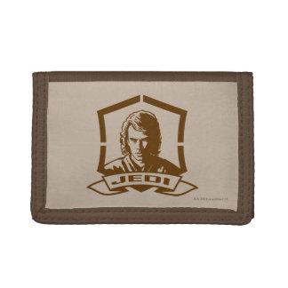 Anakin Skywalker Badge Tri-fold Wallets