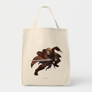 Anakin Skywalker Cartoon Grocery Tote Bag