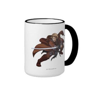 Anakin Skywalker Cartoon Ringer Mug