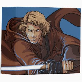 Anakin Skywalker Cartoon Vinyl Binders