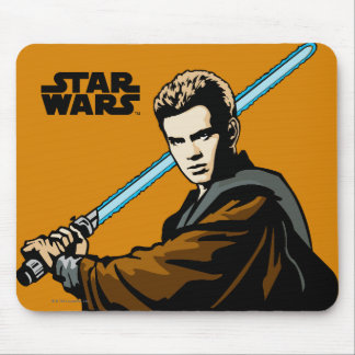 Anakin Skywalker Lightsabre Mouse Pad