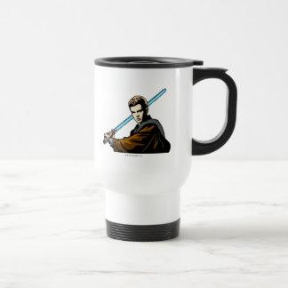 Anakin Skywalker Lightsabre Stainless Steel Travel Mug