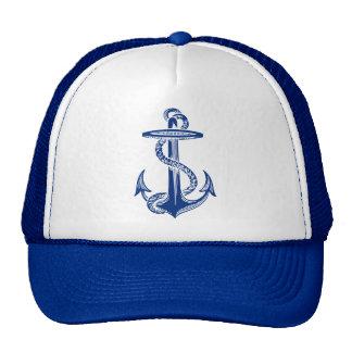 Anchor Navy Nautical Blue Cap