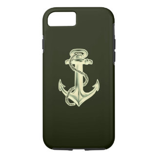 Anchors Away (Green) iPhone 7 Case