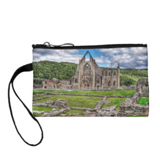 Ancient Cistercian Tintern Abbey Wales, UK Coin Purse