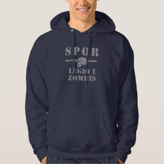 Ancient Roman 1st Zombie Hunting Legion Hoodie