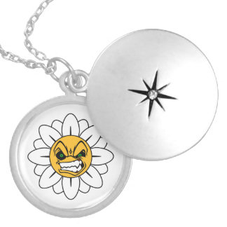 Angry Flower Necklace