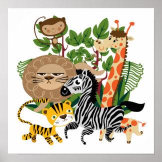 Animal Safari Poster