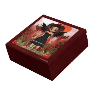 Anime Dark Angel Carmen Large Square Gift Box