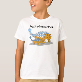 Ankylosaurus kids shirt. t shirt