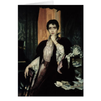 Anna Karenina, 1904 Greeting Card