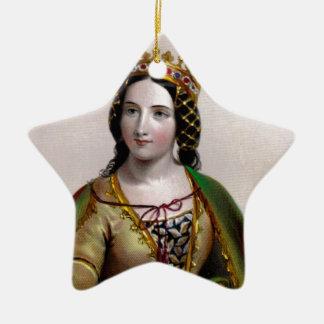 Anne Neville Ceramic Ornament