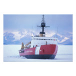 Antarctica, Ross Island, McMurdo Station, USCG Art Photo
