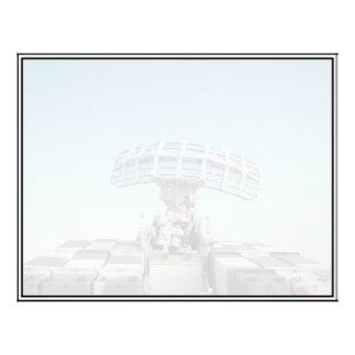 Anti Aircraft Tracking Radar Device 21.5 Cm X 28 Cm Flyer