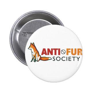 Anti-Fur Society 6 Cm Round Badge