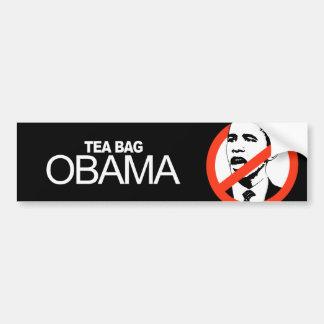Anti-Obama - Tea Bag Obama Bumper Sticker