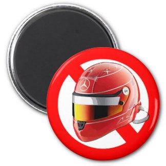 Anti Schumacher Girl Shirt with Logo 6 Cm Round Magnet
