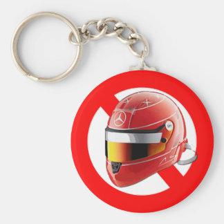 Anti Schumacher Girl Shirt with Logo Basic Round Button Key Ring