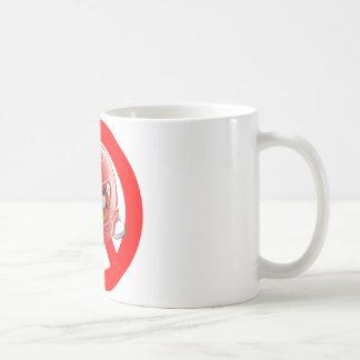 Anti Schumacher Girl Shirt with Logo Basic White Mug